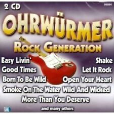 Ohrwürmer-Rock Generazione (36 tracks) Blue Öyster Cult, Bad Company, [CD DOPPIO]
