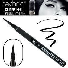 Technic - Skinny Liquid Eyeliner Felt Tip Thin Precision Liner - Black