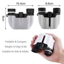 10x22 Mini Rubber Children Binoculars For Kids Bird Watching Camping + Carry Bag