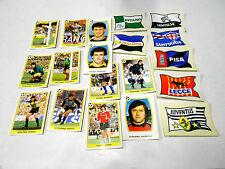 SUPERCALCIO panini 1985 / 86 lotto 19 figurine bandiere e portieri