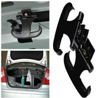 2pcs New Black Car Cargo Rear Trunk Bag Storage Magnet Hook Cargo Hanger Holder