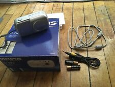 Olympus D-390 Digital Camera With Box, Accessories & Batteries