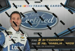 2016 LEAF CERTIFIED RACING FACTORY SEALED HOBBY BOX SEALED CASE AVAILABLE