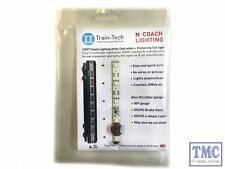 TTCN27 Train Tech N Scale Cool White Coach Lighting Strip with Flickering Tail L