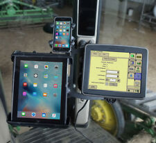 Mount a John Deere 2630 or 2600 display with phone or tablet at the corner post.