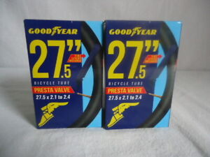 Bicycle Tubes Presta Valve Goodyear 29 Inches Set Of 2