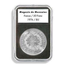 Leuchtturm (342047) capsules EVERSLAB pour piècesde monnaie de diamètre intérieu