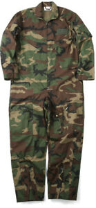 Military Flight Suit Air Force Fighter Coveralls Army Camo Jumpsuit Overalls