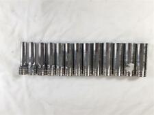 Snap-on 13 Piece TSM 10-22MM Metric Deep Sockets