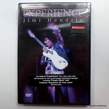 Jimi Hendrix RARE NEW US 2001 DVD Experience Film 1967 Hey Joe Purple Haze Psych