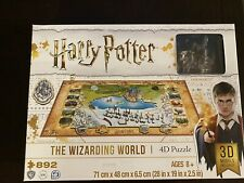 NEW Harry Potter The Wizarding World 4D Puzzle 892 Pieces 3 Layers Collector