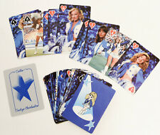 Dallas Cowboy Cheerleaders playing cards