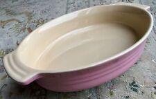 """Grand (12.5""""/32cm) LE CREUSET édition limitée en mousseline de soie rose ovale Baking Dish"""