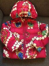 Moschino Baby Daunen Jacke 9 M 12 M Gr. 74 80 pink neuw. Kapuze Winterjacke