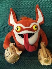 "Skylanders Giants Trigger Happy Soft Toy. Talks When You Push His Head 11"" appro"