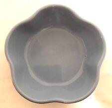 Gerald E Henn Pottery Blue Petal Bowl The Workshop Roseville Ohio