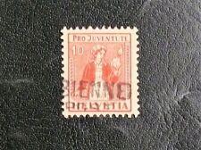 TIMBRES DE SUISSE : 1917 YVERT N° 156 PRO JUVENTUTE Oblitéré - TBE