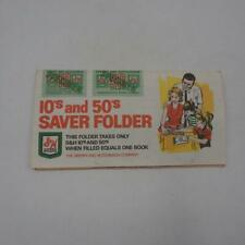 Vintage S&H Green Stamps Saver Book 1960's 1970's