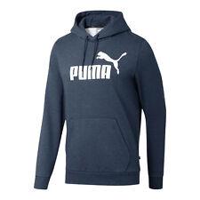 Puma Para Hombre Sudadera Con Capucha Polar + Essentials hombres Sudor Basics