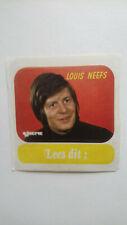 LOUIS NEEFS sticker autocollant Belgium JOEPIE MAGAZINE