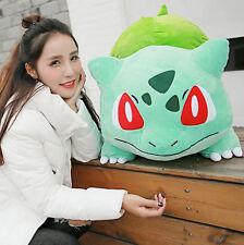 Pokemon Go Bulbasaur Plüsch weich gefüllte Puppen Kinder Spielzeug 55cm