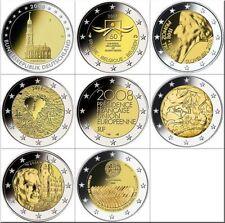 Pièces euro de la Slovénie pour 2 euro Année 2008