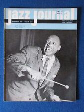 Jazz Journal magazine - November 1961 - Lionel Hampton on cover