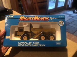 ERTL #2431 MIGHTY MOVERS CATERPILLAR  D350D ARTICULATED DUMP TRUCK 1/50 DIECAST
