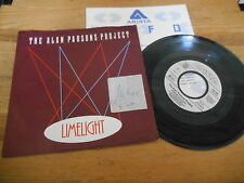 "7"" Pop Alan Parson's Project - Limelight / Urbania (2 Song) ARISTA Presskit WoC"