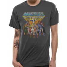 Masters of The Universe Group Distressed T-shirt Grey XXL