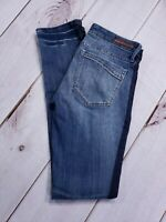 "Express Womans Size 4R Inseam 30"" Dark Stella Low Rise Ankle Skinny Denim Jeans"