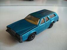 """Matchbox Superfast Cougar Villager """"Translease BV"""" in Blue (code 3 Promo model)"""