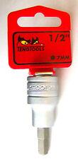 Teng Tools m121507-c Bohreinsatz für int Innensechskant Löcher 1.3cm Dr.7mm
