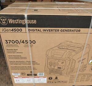 Westinghouse iGen4500 Super Quiet Portable Inverter Generator Remote Start