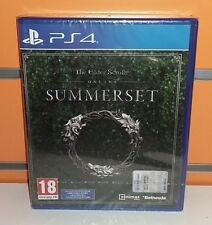 The Elder Scrolls Online - Summerset PS4 NUOVO ITA