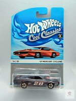 Hot Wheels - Cool Classics #16/30 Spectrafrost '69 Mercury Cyclone *New**Sealed*