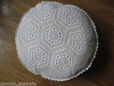 Unbranded Floral Round Decorative Cushions & Pillows