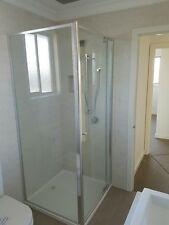 Sale semi frameless adjustable shower screen 900 - 960 front only