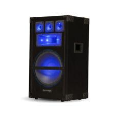 Technical Pro VRTX12L Passive LED Speaker 1800 Watts DJ PA Karaoke Studio Home