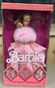 1987 Wal-Mart's 25th Anniversary Pink Jubilee Barbie Limited Edition 4589 NRFB