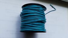 Turquoise Round Leather Cord 1 mm  25 yards