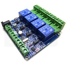 Module relais Modbus RTU 4 voies module de communication relais RS485 ttl serie
