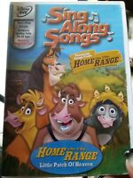 DISNEY SING-ALONG SONGS Home on the Range Little Patch of Heaven DVD Music Dance
