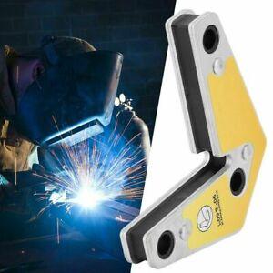 New Strong Corner Magnet Welding Arrow Clamp Magnetic Holder Fixer Welder Tool