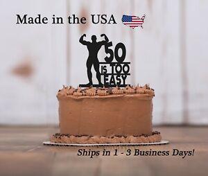 Body Builder Cake Topper, Gym, Weight Lifting, Birthday Keepsake, LT1427