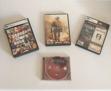 Lof of 5 PC Shooter Games GTAIV, COD, MW2, BioShock, Oblivion, Battlefield 1942