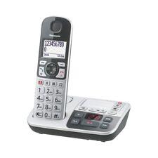 Panasonic KX-TGE520GS Silber-Schwarz DECT Schnurlos-Telefon Analog Festnetz