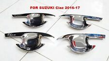 CHROME BOWL HANDLE INSERT COVER TRIM NEW SUZUKI CIAZ 2016-17