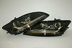 AUDI TT Front Lamps Headlights Halogen LEFT + RIGHT PAIR OEM 2006-2010