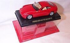 Ferrari 612 Scaglietti  Red  1-43 scale new in pack